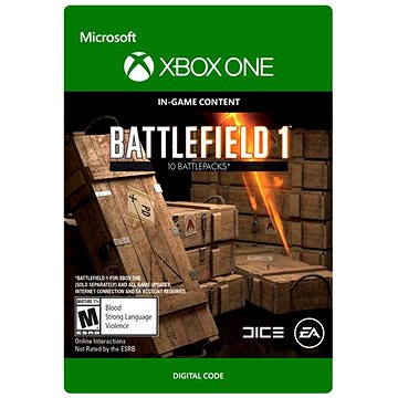 Battlefield 1: Battlepack X 3 - Xbox Digital (7F6-00084)