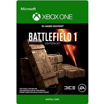 Battlefield 1: Battlepack X 5 - Xbox Digital (7F6-00085)