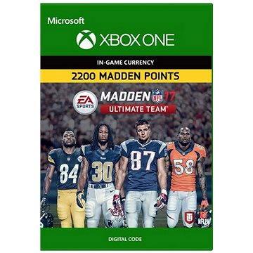 Madden NFL 17: MUT 2200 Madden Points Pack - Xbox Digital (7F6-00055)