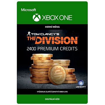 Tom Clancy's The Division: Currency pack 2400 Premium Credits - Xbox Digital (7F6-00104)