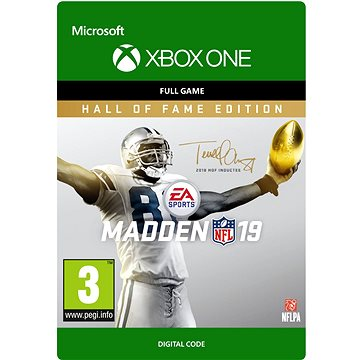 Madden NFL 19: Hall of Fame Edition - Xbox Digital (G3Q-00503)