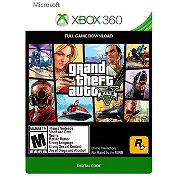Grand Theft Auto V (GTA 5) - Xbox 360 Digital (G3P-00003)