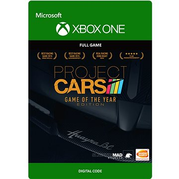 Project CARS Game of the Year Edition - Xbox Digital (G3Q-00124)