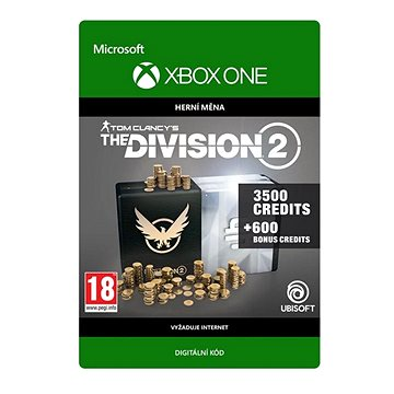 Tom Clancy's The Division 2: 4100 Premium Credits Pack - Xbox Digital (7D4-00352)