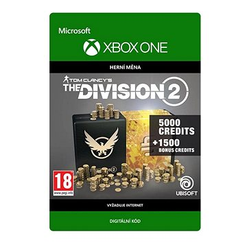 Tom Clancy's The Division 2: 6500 Premium Credits Pack - Xbox Digital (7D4-00353)