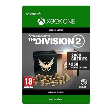 Tom Clancy's The Division 2: 2250 Premium Credits Pack - Xbox Digital (7D4-00351)