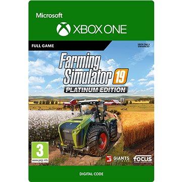 Farming Simulator 19: Platinum Edition - Xbox Digital (G3Q-00819)