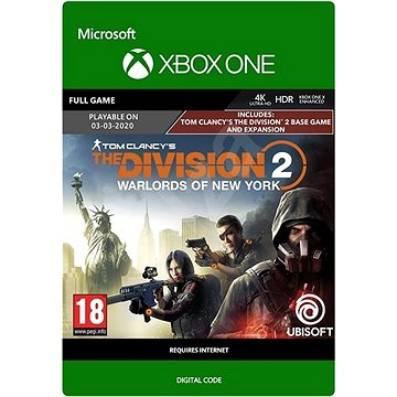 Tom Clancy's The Division 2: Warlords of New York Edition - Xbox Digital (G3Q-00896)