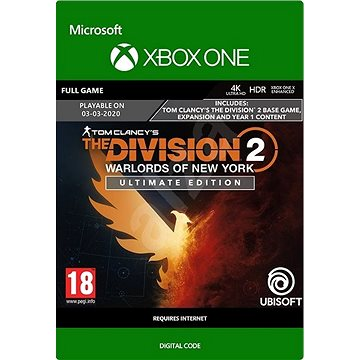 Tom Clancy's The Division 2: Warlords of New York Ultimate Edition - Xbox Digital (G3Q-00895)