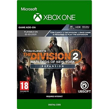 Tom Clancy's The Division 2: Warlords of New York Expansion - Xbox Digital (7D4-00553)
