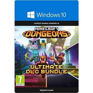 Minecraft Dungeons: Ultimate DLC Bundle - Windows 10 Digital (2WU-00038)