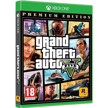 Grand Theft Auto V (GTA 5): Premium Edition - Xbox One (5026555359993)