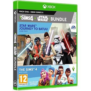 The Sims 4: Star Wars - Výprava na Batuu bundle (Plná hra + rozšíření) - Xbox One (5030933124264)