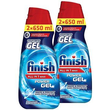 FINISH Gel All-in-1 Shine&Protect 2x 650 ml (52 dávek) (5997321732947)