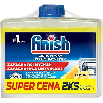 FINISH Čistič myčky Lemon 250 ml DUO (8592326010716)