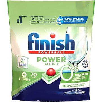 FINISH 0 % Tablety do myčky 70 ks (5900627092431)