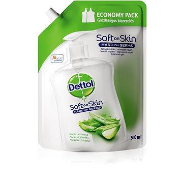 DETTOL Tekuté mýdlo Náhradní náplň Aloe Vera a vitamín E 500 ml (5997321780931)