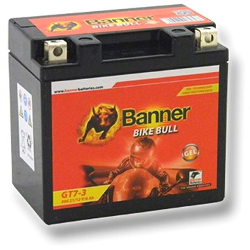 Banner Bike Bull GEL 50621, GT7-3 (YTZ7S), 12V - 6Ah (GT7-3)