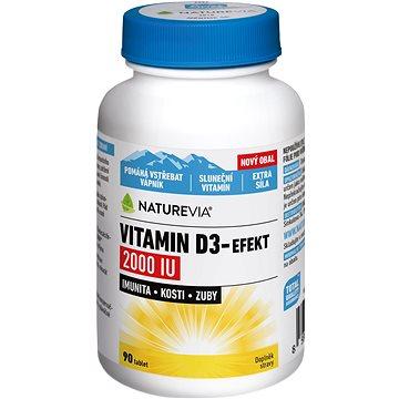 NatureVia Vitamin D3-Efekt 2000IU tbl.90 (3634368)