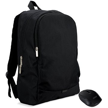 """ACER Notebook Starter Kit - 15.6"""" batoh černý + bezdrátová myš černá (NP.ACC11.029)"""