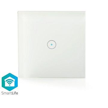 NEDIS Wi-Fi chytrý spínač osvětlení jednoduchý (WIFIWS10WT)