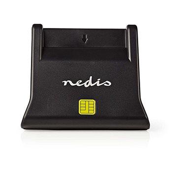 NEDIS Smart Card ID CRDRU2SM3BK (eObčanka) USB 2.0 (CRDRU2SM3BK )