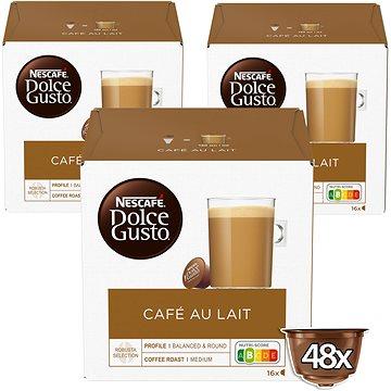 NESCAFÉ Dolce Gusto Café Au Lait, 3 balení (12148063)