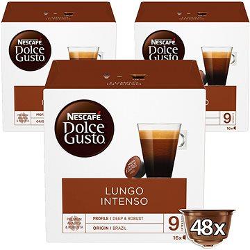 NESCAFÉ Dolce Gusto Caffé Lungo Intenso, 3 balení (12173479)