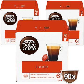 NESCAFÉ Dolce Gusto Caffe Lungo XXL, 3 balení (12423833)