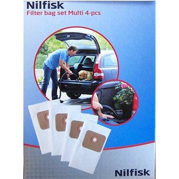 Nilfisk Sada odpadních sáčků Multi, 4ks (107402336)