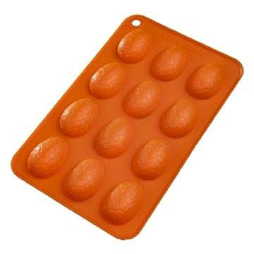 Forma silikon VAJÍČKA 12 oranžová (124991)