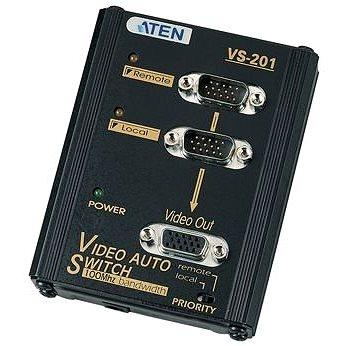 ATEN Elektronický VGA přepínač 2:1 (VS-201)