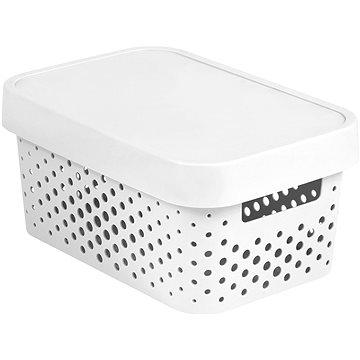 Curver INFINITY DOTS box 4,5L - bílý (04760-N23-00)