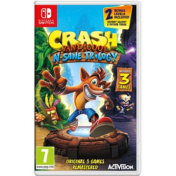 Crash Bandicoot N Sane Trilogy - Nintendo Switch (88199EN)