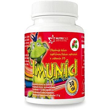 NUTRICIUS Imuníci - Hlíva ústřičná s vit. D pro děti tbl.30 (3779767)