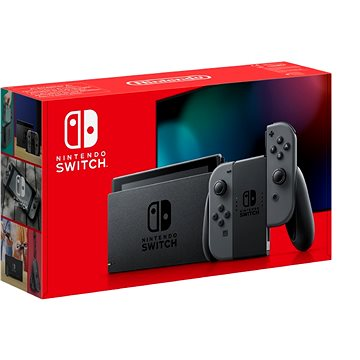 Nintendo Switch - Grey Joy-Con (045496452599)