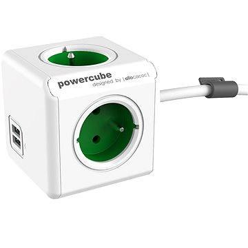 PowerCube Extended USB zelená