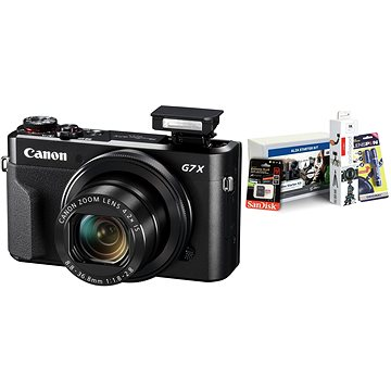 Canon PowerShot G7 X Mark II + Alza Foto Video Starter Kit