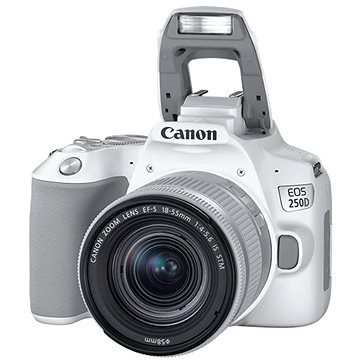 Canon EOS 250D bílý + 18-55mm IS STM (3458C001)