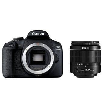 Canon EOS 2000D + 18-55mm DC III (2728C002)