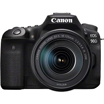 Canon EOS 90D + EF-S 18-135 mm f/3.5-5.6 IS USM (3616C017)