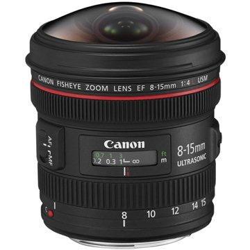 Canon EF 8-15mm f/4.0 L USM rybí oko (4427B005AA)