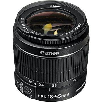 Canon EF-S 18-55mm f/3.5 - 5.6 IS II Zoom černý (5121B005AA)