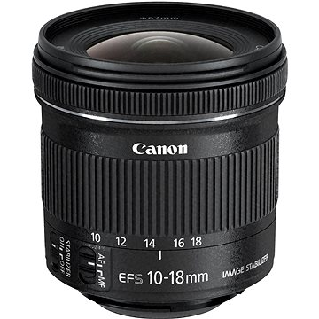 Canon EF-S 10-18mm f/4.5 - 5.6 IS STM (9519B005AA)