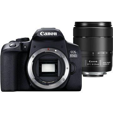Canon EOS 850D černý + 18-135mm IS STM (3925C020)