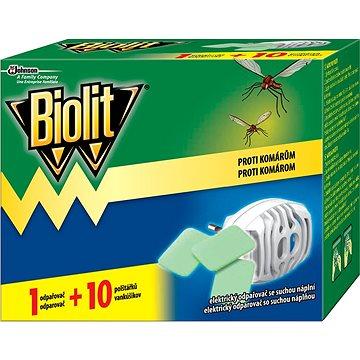 BIOLIT Elektrický odpařovač s suchou náplní 1 + 10 ks (5000204920901)