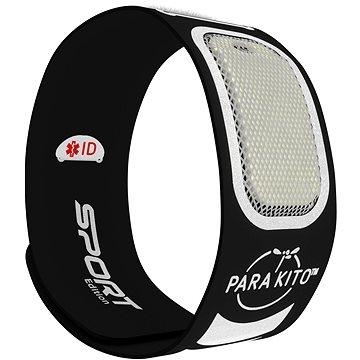 PARA'KITO sportovní náramek, černý + 2 náplně (8594179656967)