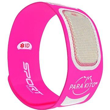 PARA'KITO sportovní náramek, růžový + 2 náplně (8594179656981)