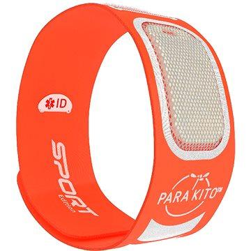 PARA'KITO sportovní náramek, oranžový + 2 náplně (8594179656998)
