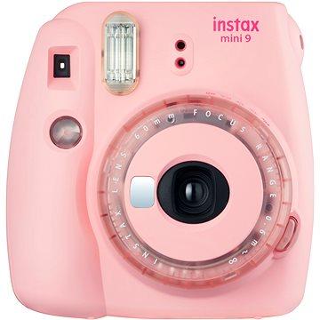 Fujifilm Instax Mini 9 růžový + modrý set příslušenství (70100149248)